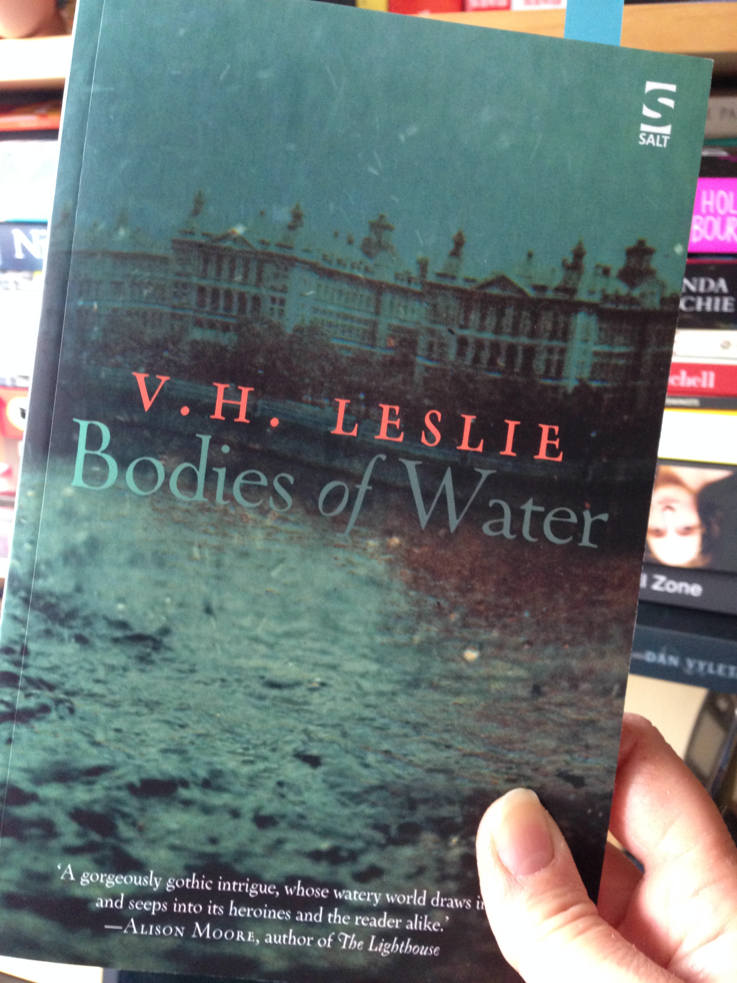 BOOK REVIEW – Bodies of Water by V.H. Leslie