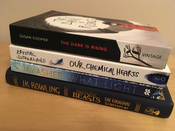 Blogmas 2016 – Day 1 – My December TBR