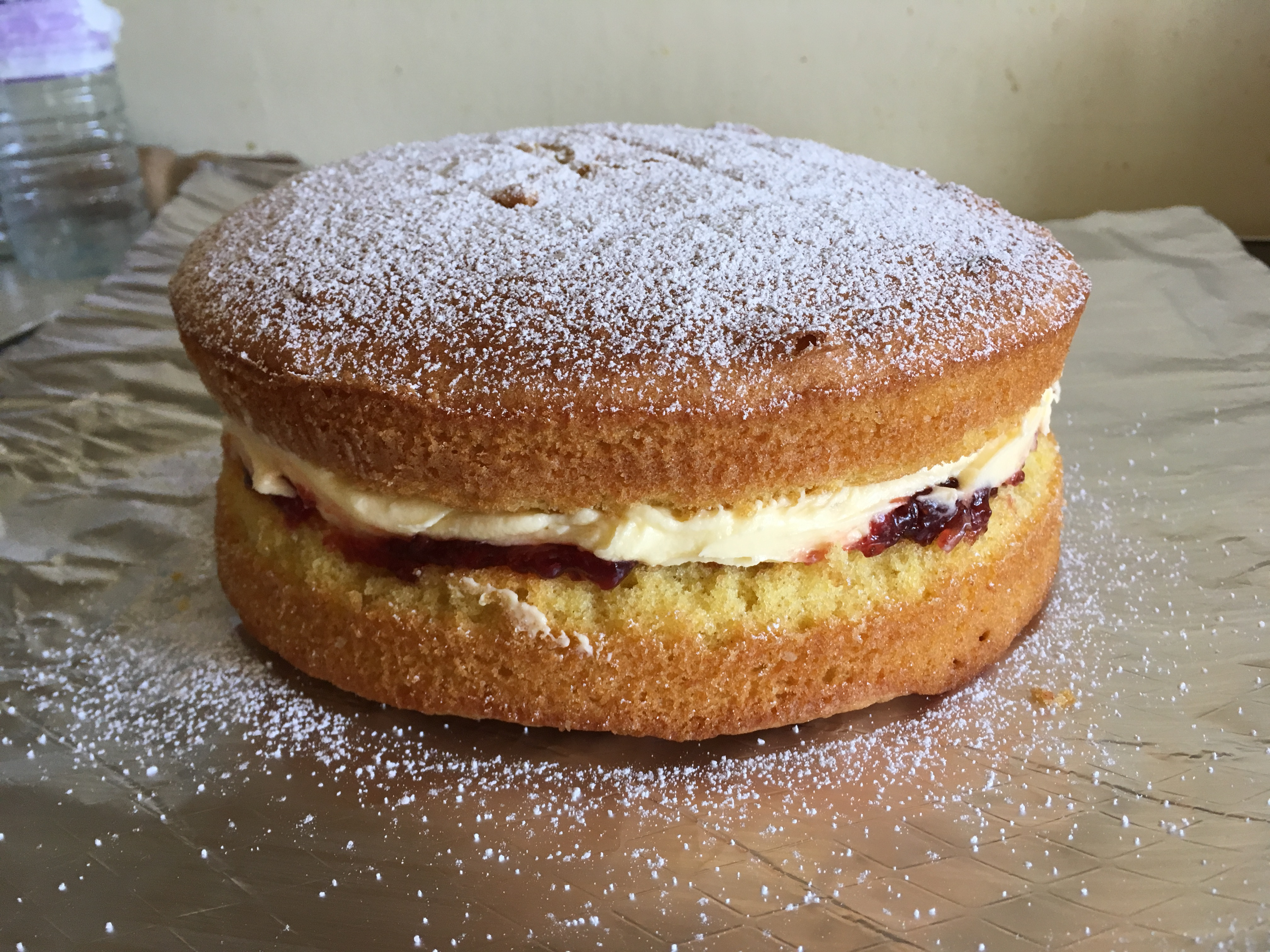 Victoria sponge holds no fears for me now!