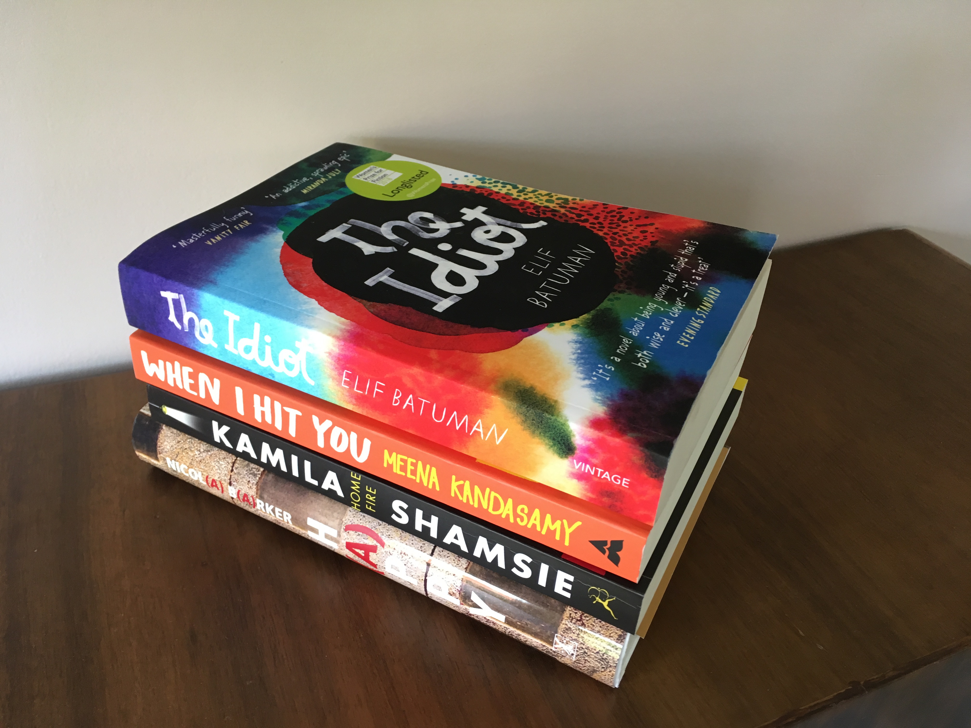 May Book Haul Part 1 – Women's Prize for Fiction 2018
